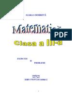 Exercitii Si Probleme Matematica