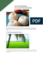 25 Things to Do in Kerala