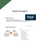Network Depth Perception