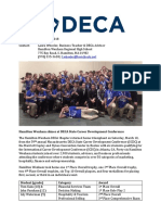 Press Release HW DECA States 2018