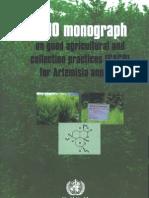 ArtemisiaMonograph