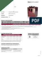 TE35 Data Sheets