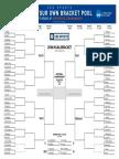 Printable 2018 NCAA Basketball Bracket