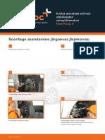 Kuidas asendada esimest stabilisaatori varrast/ühendust Ford Focus II
