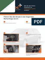 Wie Sie Das Hintere Federbein Am Volkswagen Golf III Ersetzen