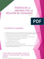 Presupuestos de La Responsabilidad Civil La Relacion De