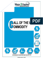 Commodity Research Report 12 March 2018 Ways2Capital