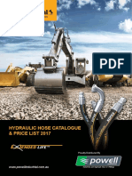 Powell Hydraulic Hose Catalogue Price List 2017