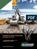 Powell Hydraulic Hose Catalogue Price List 2017