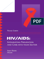 Peace Corps HIV AIDS Idea Book Integrating Prevention and Care Into Sectors M0081