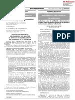 Resolución Legislativa del Congreso que modifica el Artículo 86 del Reglamento del Congreso de la República