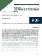 Effect of Licorice Glycyhrriza Glabra Linn. a Skin Whitening Agent on Bl