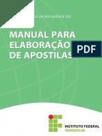 Manual Para Elaboracao de Apostilas - Cead v03ultima Versao