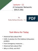 IPU MCA ADVANCE COMPUTER NETWORK UNIT-2