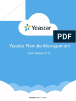 Yeastar Remote Management User Manual En