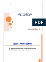14. Osiloskop