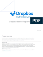 Dropbox Reseller Program Guide