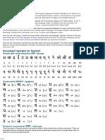 Sanskrit Alphabet, Pronunciation and Language