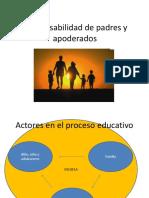 Responzabilidad de Los Padres en El Proceso Educativo