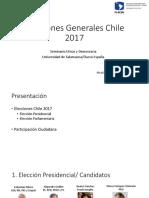 Elecciones Generales Chile 2017_ Primera Vuelta