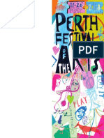 Perth Festival of Arts Proposed Prog 2018
