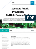 E Guide Ransomware and Backup