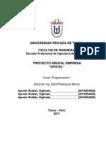 Proyecto Final GPSTEL