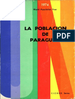 La Población Del Paraguay 1974
