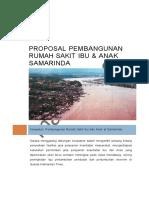 Contoh Proposal Pembangunan Rumah Sakit