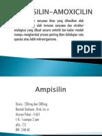 Ampisilin Amoxicilin