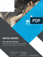 SIRON Dry Deluge Testing White Paper 2017