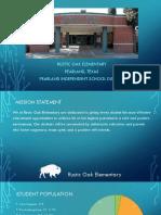 school profile administrative internship ii
