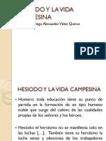 Hesiodo y La Vida Campesina