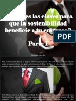 Nestor Chayelle - ¿Conoces Las Claves Para Que La Sostenibilidad Beneficie a Tu Empresa?, Parte I