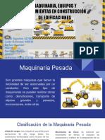 Maquinaria Para Obras