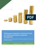Portfolio Management Report of Finance 20th Batch, University of Dhaka