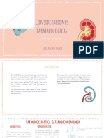 Consideraciones farmacologicas