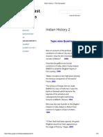 Indian History 2 - PCS