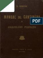 Manual Del Cantinero o Cocktelero Perfecto