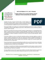 ACUERDO FIRMADO POR 25 PAÍSES PERMITIRÁ FRENAR AMENAZAS CONTRA DEFENSORES DEL AMBIENTE
