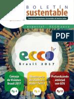Boletín Sustentable CASA Latina Marzo 2018 ES
