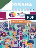 Programa Festival de Comunidades Extranjeras 2018