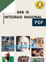 Bab Ix Pendidikan Kewarganegaraan
