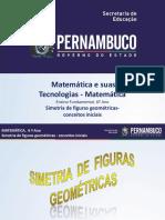 Simetria de Figuras Geométricas- Conceitos Iniciais