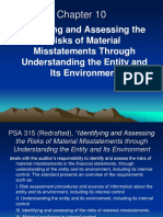 Chapter 10 Identifying and Assessing the Risks of Material Misstatements