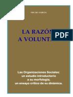 Libro - La Razon a Voluntad - Oscar Garcia - Edicion Abril de 2014