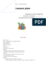 Toys Lesson Plan