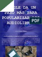 Javier Ceballos Jiménez - Google da un paso más para popularizar los audiolibros