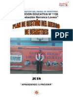 Plan de Gestion de Riesgo y de Contingencia de la Institucion Educativa N° 1156-JSBL Ccesa007