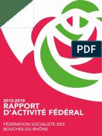 Rapport d Activite Federal 2015-2018